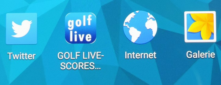 Golf-Live App Button-Icon